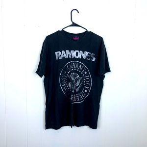 Vintage Ramones Rock T-Shirt Sz L